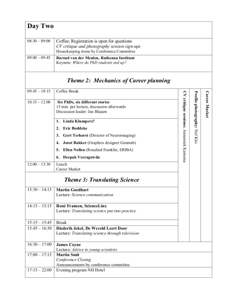 Conference Schedule-2013day 2