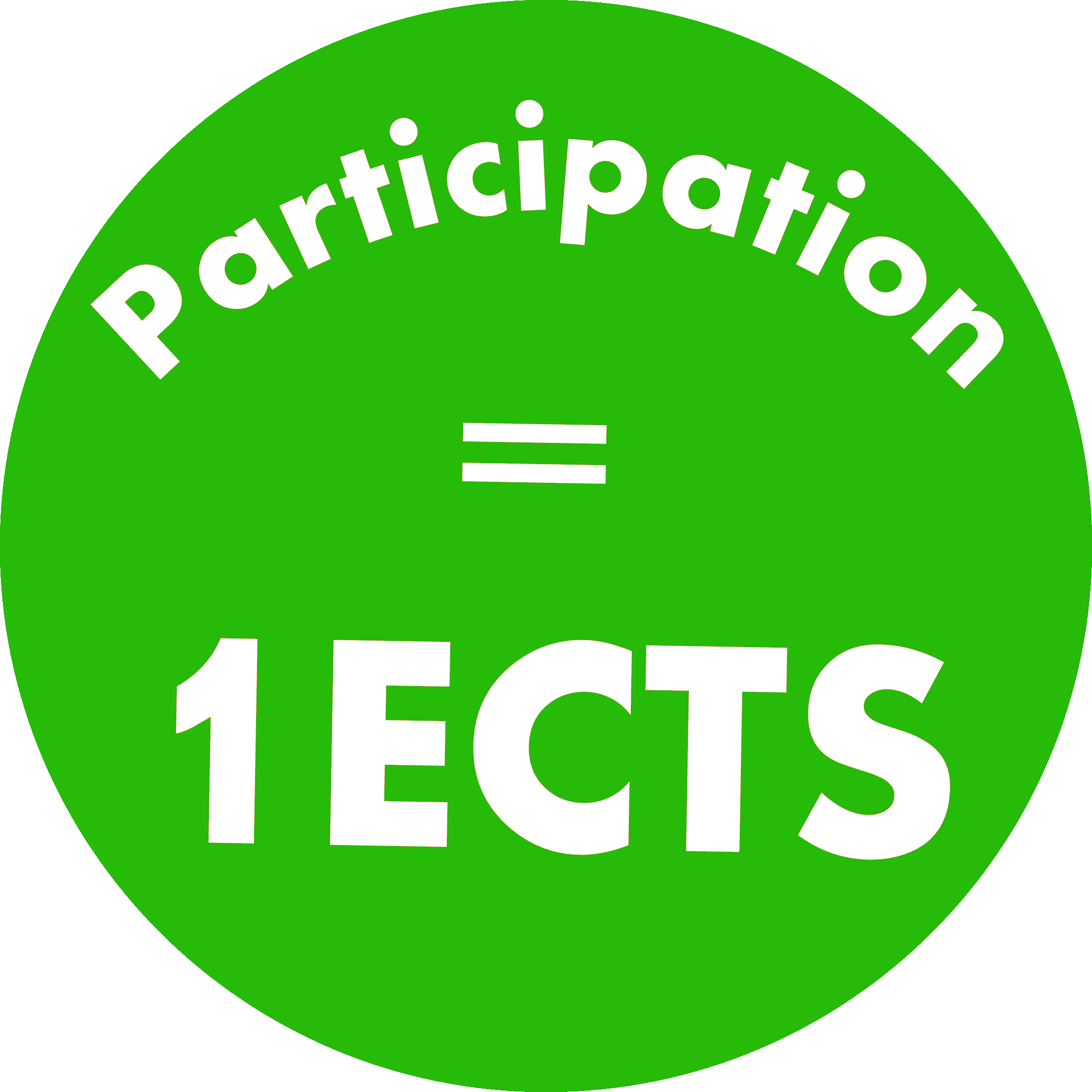 1 ECTS for Participation